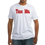 Team Mel (Plain) Fitted T-Shirt