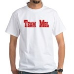 Team Mel (Plain) White T-Shirt