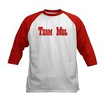 Team Mel (Plain) Kids Baseball Jersey