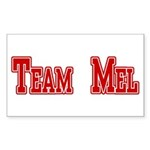 Team Mel (Plain) Sticker (Rectangle 10 pk)