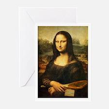 Mona Lisa Smile - Tennis Greeting Cards (Pk of 10)