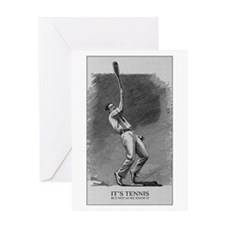 It's Tennis - Greeting Card
