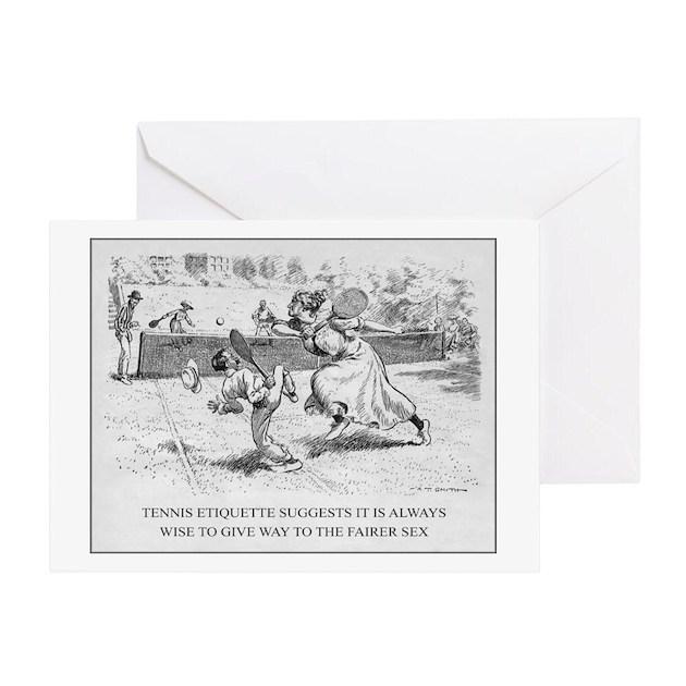 Greeting Card By Tennisemporium