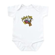 Graffiti Mighty Bee Infant Bodysuit