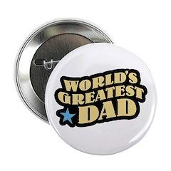 Worlds Greatest Dad Button