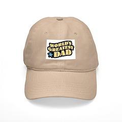 Worlds Greatest Dad Baseball Cap