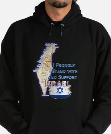 I Stand With Israel - Hoodie (dark)