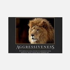 Aggressiveness Rectangle Magnet