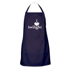 'I Heart Twilight' Apron (dark)