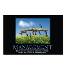 Management Postcards (Package of 8)