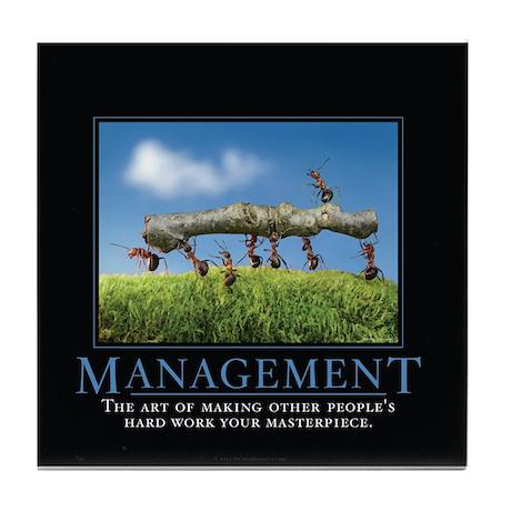 Management Tile Coaster