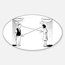 hardware/software Sticker (Oval)