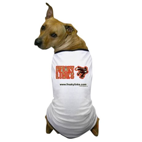 FreakyLinks Logo Dog T-Shirt