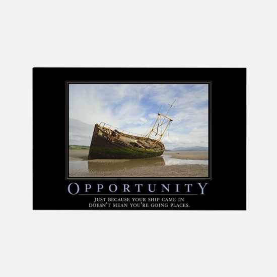 Opportunity Rectangle Magnet