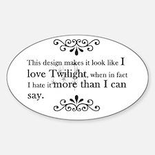 'Anti-Twilight' Decal