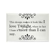 'Anti-Twilight' Rectangle Magnet
