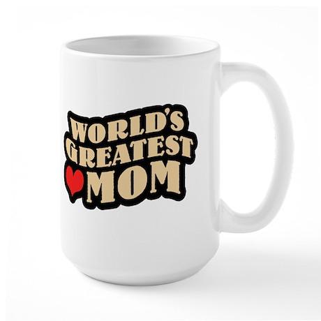 Worlds Greatest Mom Large Mug
