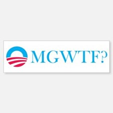 Obama OMGWTF Bumper Bumper Sticker