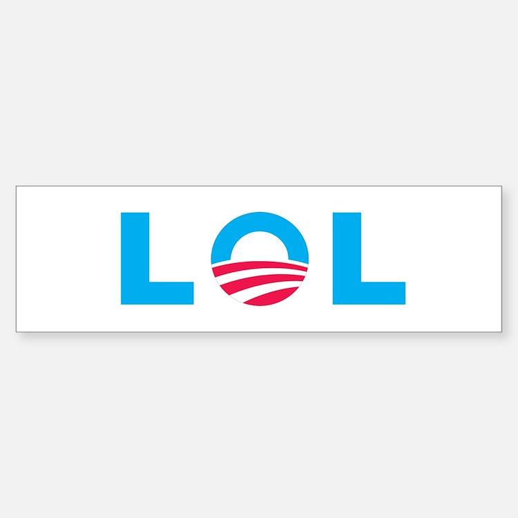 Obama LOLBumper Bumper Sticker
