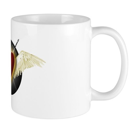 Wounded Heart in Flight Mug