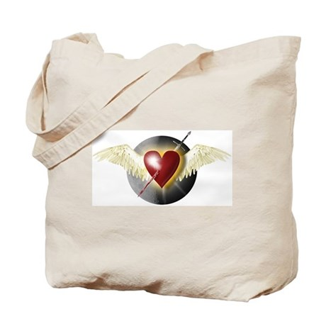Wounded Heart in Flight Tote Bag