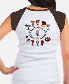 Drink Around The World Women's Cap Sleeve T-Shirt