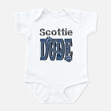 Scottish Terrier DUDE Infant Bodysuit