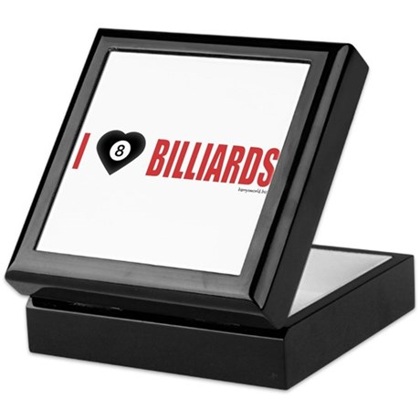 Billiard Love 2 Keepsake Box