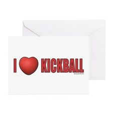 Kickball Love 2 Greeting Cards (Pk of 10)