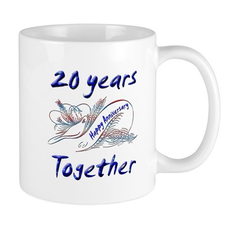 anniversary birds 20 Mugs