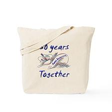 Cute 50th wedding anniversary Tote Bag