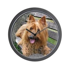 Awesome Australian Terrier Wall Clock