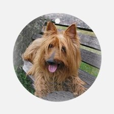 Awesome Australian Terrier Ornament (Round)