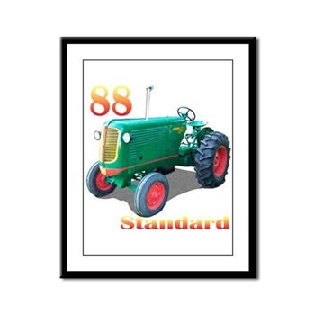 The 88 Standard Framed Panel Print