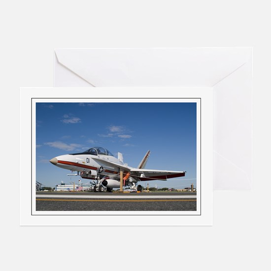 F18 TPS Greeting Cards (Pk of 10)