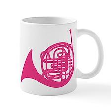 Pink French Horn Mug