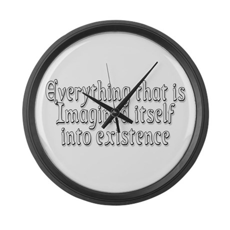 Everything Large Wall Clock