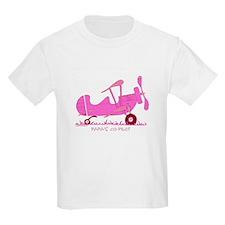 Papa's Co-Pilot Pink T-Shirt