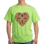Bijii Heartknot Green T-Shirt
