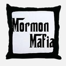 Mormon Mafia Throw Pillow