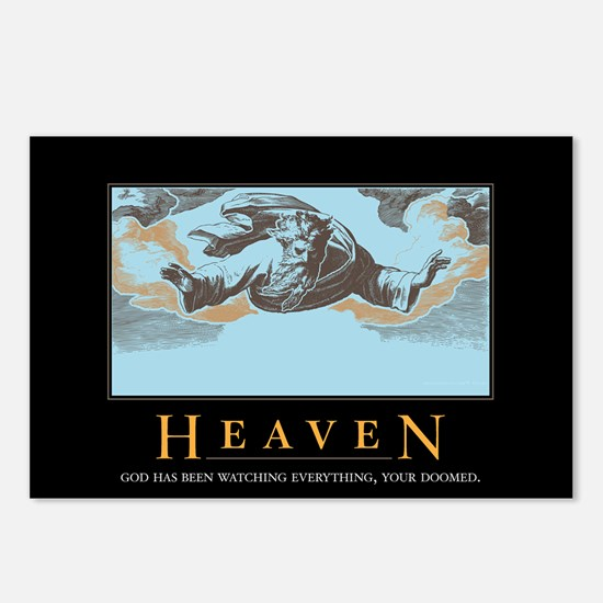 Heaven Postcards (Package of 8)