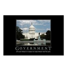 Government Postcards (Package of 8)