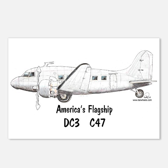 America's Flagship Postcards (Package of 8)