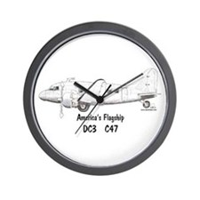 America's Flagship Wall Clock
