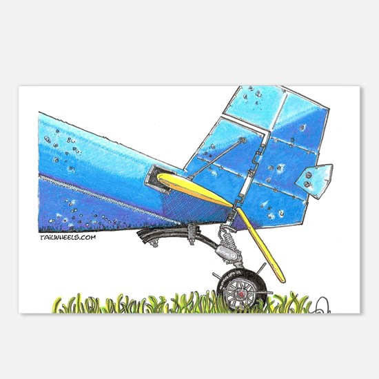 Blue Tail Postcards (Package of 8)