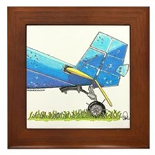 Blue Tail Framed Tile
