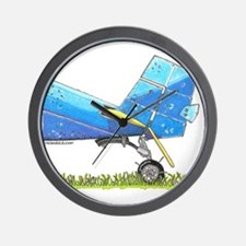 Blue Tail Wall Clock