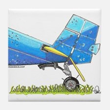 Blue Tail Tile Coaster