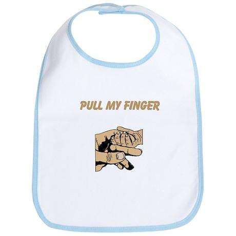Pull My Finger Bib