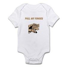 Pull My Finger Infant Bodysuit